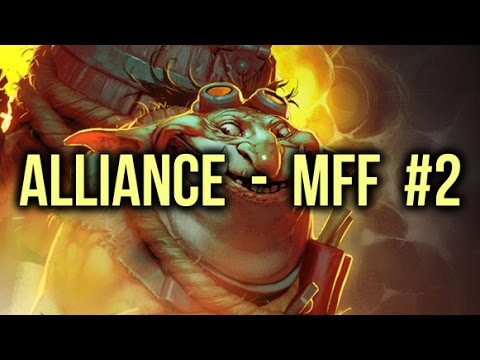 Alliance vs MFF (Monkey Freedom Fighters) Dota 2 Highlights Elimination Mode Game 2 - YouTube