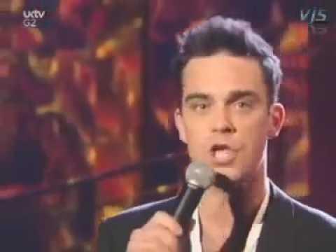 Have You Met Miss Jones Robbie Williams @Parkinsonn Show 2001