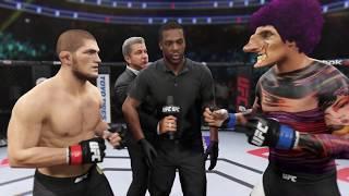 Khabib vs. Freak (EA Sports UFC 2) - Champion Fight