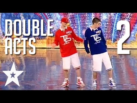 6 More Awesome Double Acts Around The World | Got Talent Glo