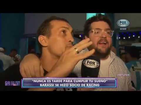 Barassi conoció el Cilindro junto a Chatruc (NET) - Racing Club - El Primer Grande