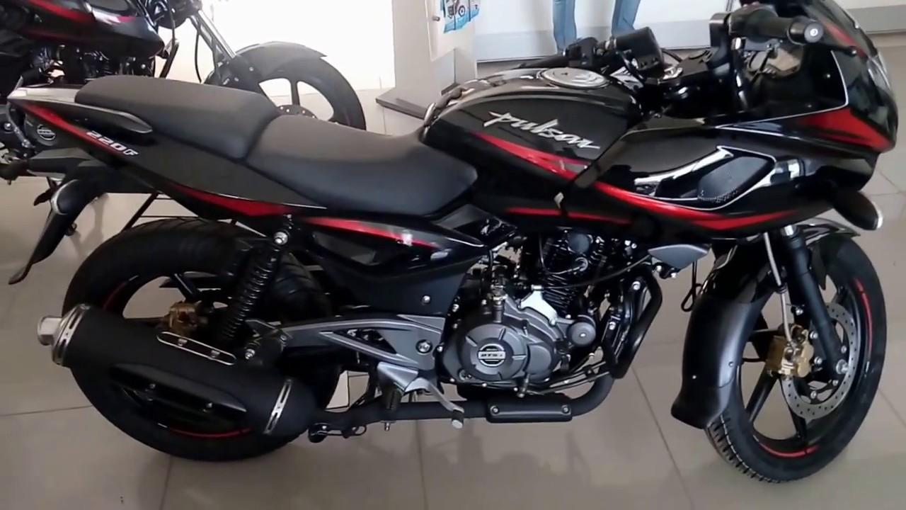 new bajaj pulsar 220f bs4 engine walkaround motorbikes for