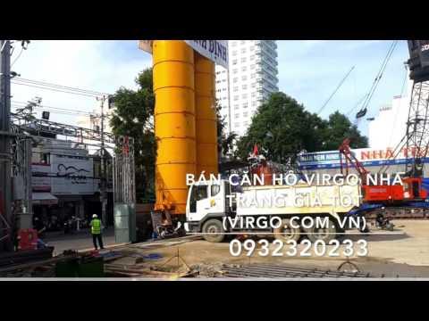 Dự án Virgo Condotel Nha Trang - Video Công Trường Thi Công