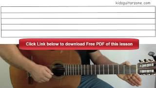 Guitar Lesson 3C: Jingle Bells Chorus Mp3