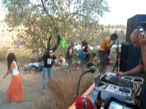 Trance Party in the Hills of Jerusalem