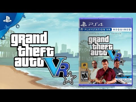 Grand Theft Auto V - Coming for PlayStation VR  | Concept Trailer