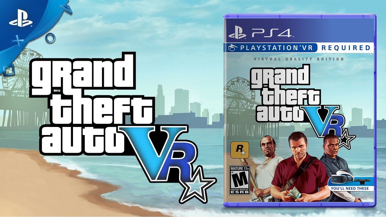Grand Theft Auto V Coming for PlayStation VR | Concept by Captain Hishiro