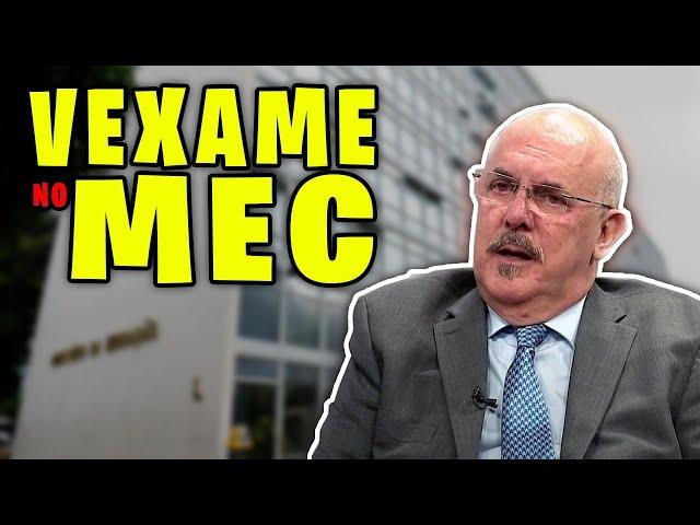 VEXAME NO MEC!! MINISTRO FALA ABSURDO!
