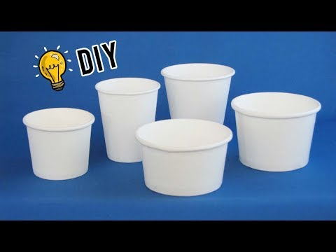 How To Repurpose Reuse Paper Cups| Best Out Of Waste