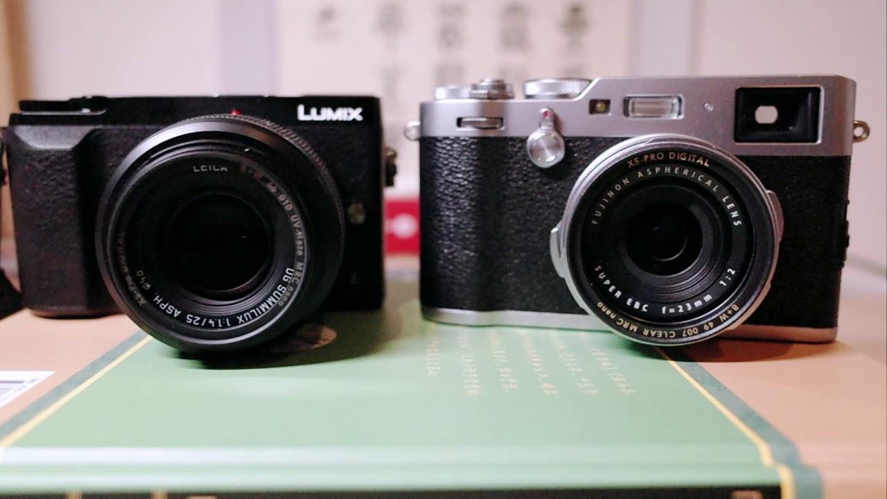 Why Do I Prefer Gx85 Over X100f For Street Photography Youtube Panasonic Lumix Gx85k Lensa 12 32mm Kamera Dmc