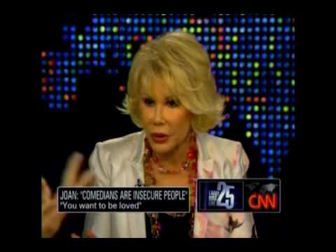 CNN Larry King June 24: Interview with Joan Rivers Part 1 of 4