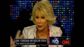 cnn larry king june 24 interview with joan rivers part 1 of 4