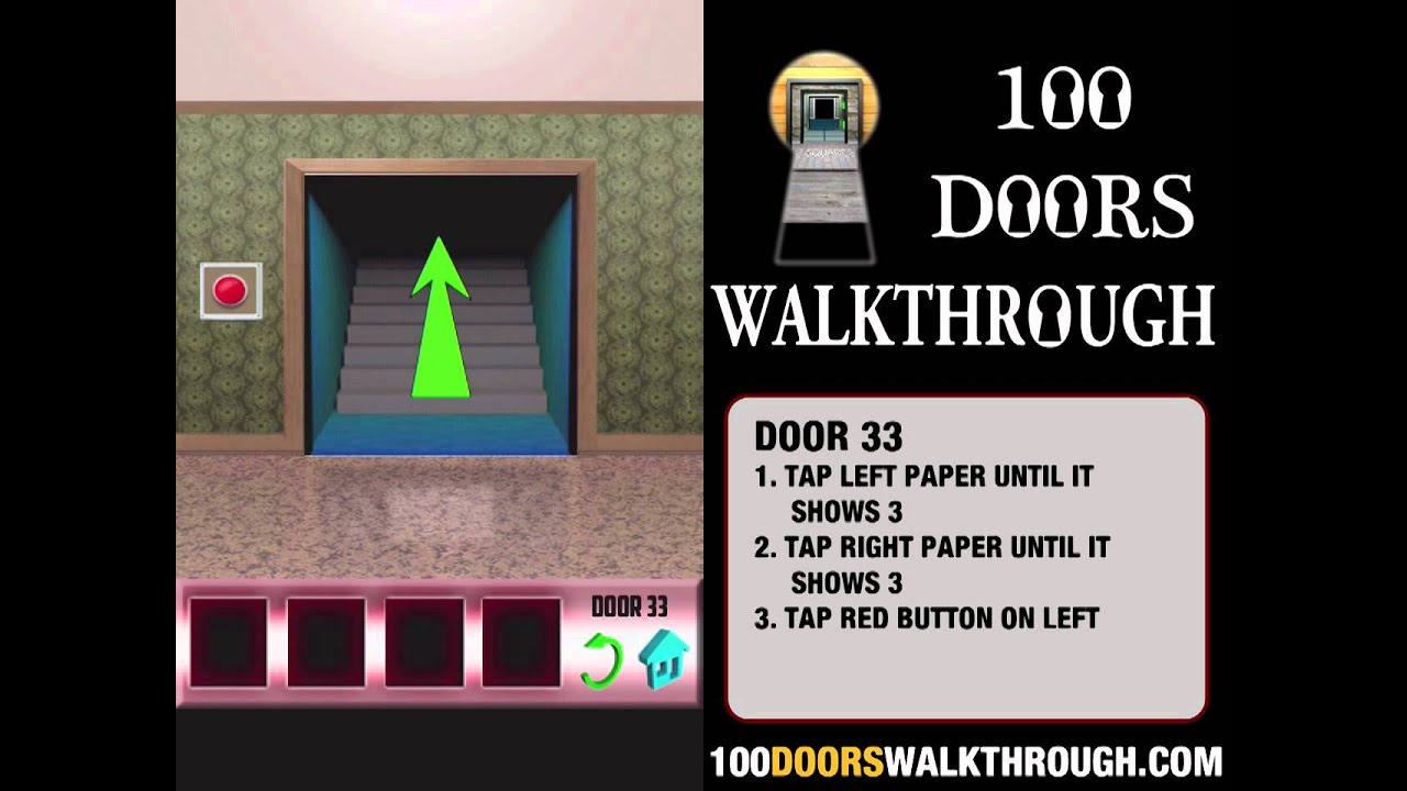 100 Doors X - Door 33 Walkthrough iPhone | 100 Doors X 33 | 100 Doors Walkthrough Cheats - YouTube & 100 Doors X - Door 33 Walkthrough iPhone | 100 Doors X 33 | 100 ...