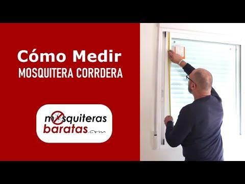 C mo instalar una mosquitera tesa doovi for Instalar mosquitera corredera
