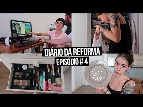 Diário da Reforma #4 - PRESENTES PRA CASA, DECORAÇÃO E TOUR ATUALIZADO | Mi Alves