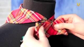 Как завязывать галстук-бабочку?