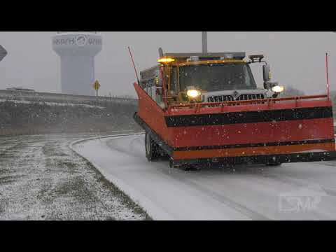 11-06-2019 Oshkosh, WI - Wisconsin Heavy Snow & I-41 Interstate Corridor