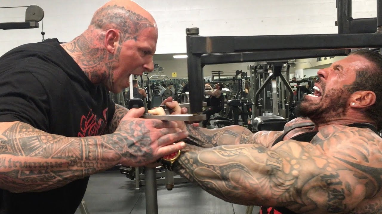 BIGGER BY THE DAY - DAY 23 - 6'8 330LB MARTYN FORD - KILLIN CHEST