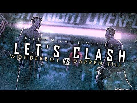 STEPHEN THOMPSON VS. DARREN TILL (HD) PROMO, UFC LIVERPOOL, WONDERBOY, MMA