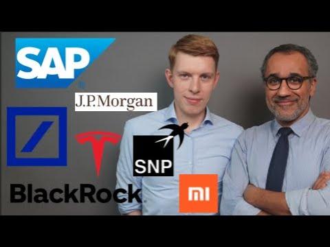 Deutsche Bank, SAP, SNP Schneider, Xiaomi, BlackRock, Tesla,
