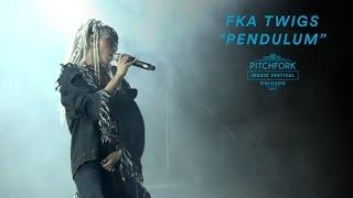 "FKA twigs Performs ""Pendulum"" | Pitchfork Music Festival 2016"