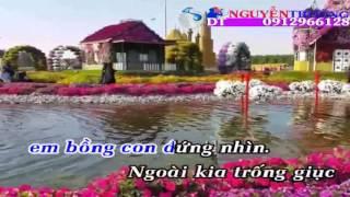 karaoke Thư Cho Vợ Hiền beat chuẩn