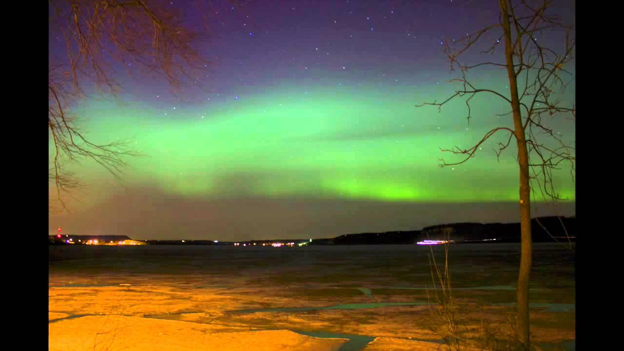 aurora borealis time lapse northern lights 3 17 15 lake city