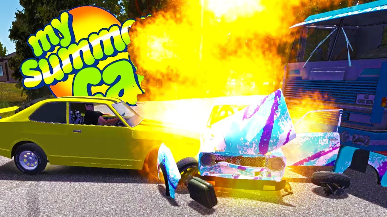 My Summer Car Our Engine Caught Fire And The Car Exploded Gameplay Highlights Ep 67