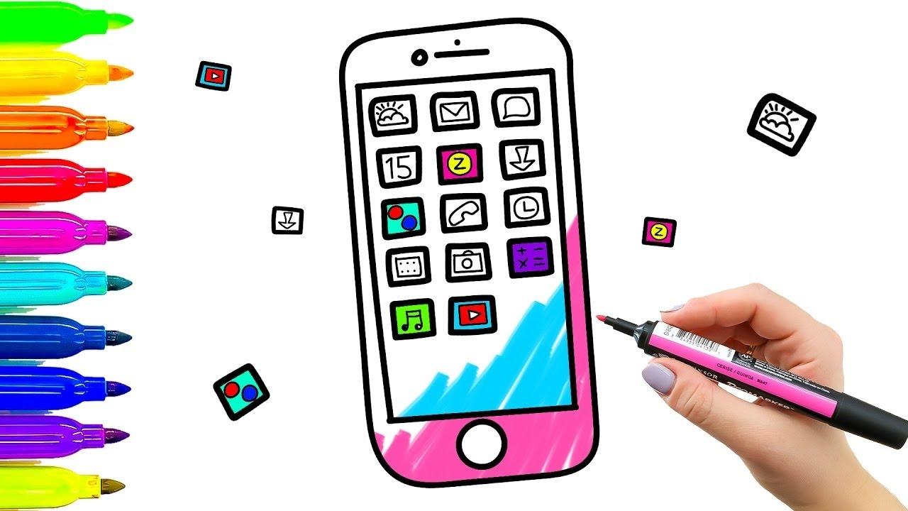 Colorear el libro para colorear y dibujar para niños Aprendiendo a ...