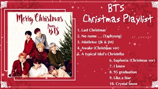 2019 Playlist BTS Christmas songs