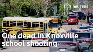 One Dead In Knoxville School Shooting