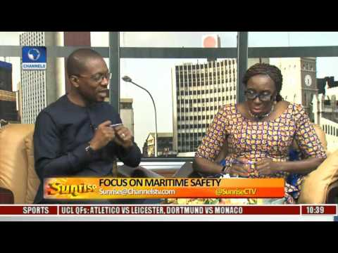 Sunrise: NIMASA DG Highlights Progress On Maritime Safety Pt 1