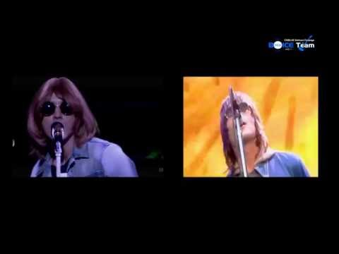 Jung Yonghwa vs Liam Gallagher (Oasis) - Supersonic {BOICE Team}