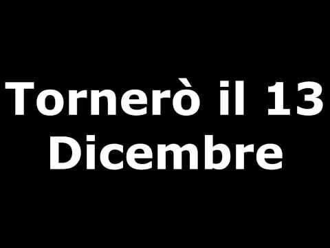 TORNERO' IL 13 DICEMBRE