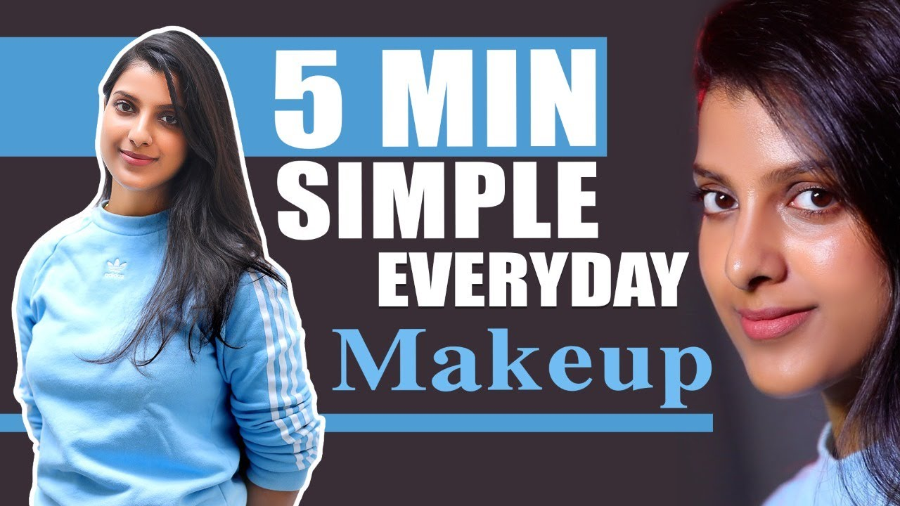 Download Simple Glow Makeup For College & Casual Outings    Step by Step Tutorial in Tamil   Say Swag
