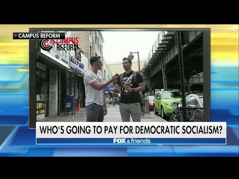 WATCH: Ocasio-Cortez Supporters Stumped on How Democratic Socialism Would Be Funded