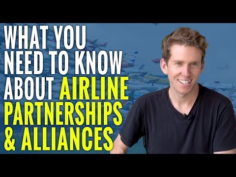 What You Need To Know About Airline Partnerships & Alliances