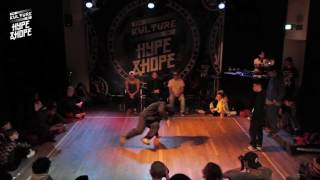 Thien vs Hyper Soul   BBOY QUARTER FINALS   The Kulture of HYPE & HOPE 2016   WATER EDITION