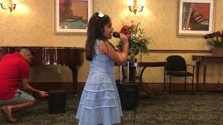 "7 year old Anjali Singh singing "" I Surrender"" by Celine Dion"