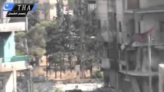 Aleppo FSA Sniper Targeting militants in the neighborhood 20 06 2013