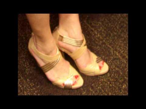 Ana Kasparian's cute birthday feet
