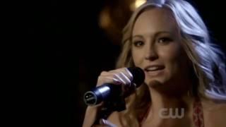 """Caroline singing """"Eternal Flame"""" 2x16"""