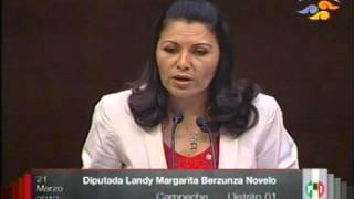 Intervencion De La Dip  Landy  Margarita  Berzunza  Novelo 21 Marzo 13