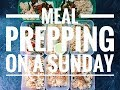 Meal prepping on Sunday | Offseason vlog 15