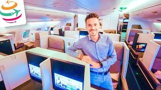 14 Stunden in der Etihad Business Class im A380 nach Sydney | YourTravel.TV