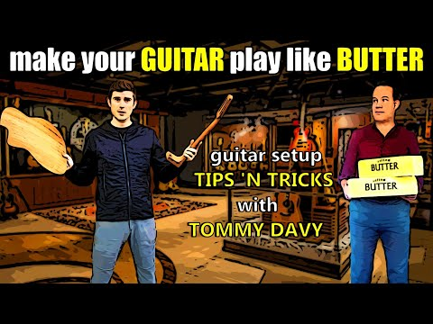 Gypsy Jazz Quick Tips - Episode 8: guitar setup with special guest Tommy Davy