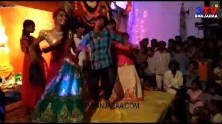 Banjara Singers Nirmala , Swathi Bai & Sampath Stage Dance  in Ganesh Navaratri !! 3TV BANJARAA