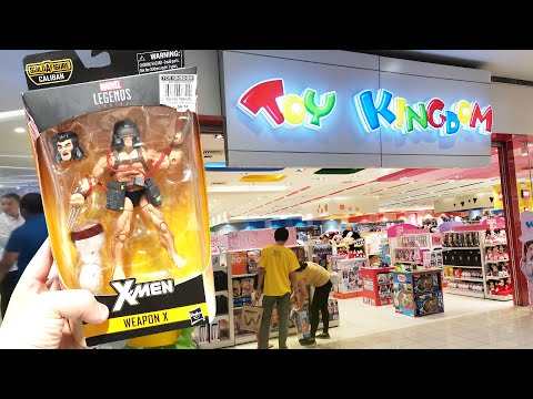 TOY TOUR: TOY KINGDOM AT SM NORTH EDSA, MANILA, PHILIPPINES