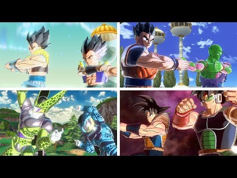 Father-Son Fusions - Dragon Ball Xenoverse 2 Mods