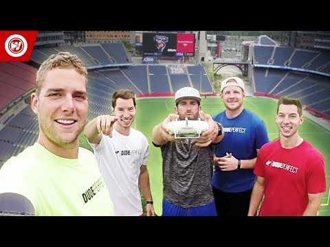 Gillette Stadium BONUS Video | DUDE PERFECT